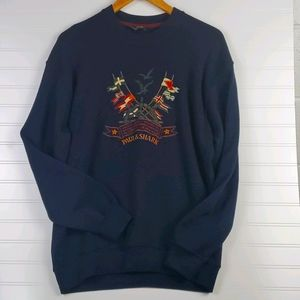 Paul & Shark Yachting Vintage Wool Blend Sweater L